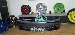 Fit 96-03 BMW E39 5 Series CSL Style Front Bumper M5 Lip For All M Bumpers ABS