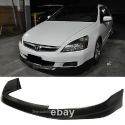 Fit For 06-07 Honda Accord Coupe HFP Style PU Front Bumper Lip