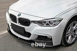 Fit For 2012-2018 BMW F30 3 Series M Style Front Bumper Lip Carbon fiber Style
