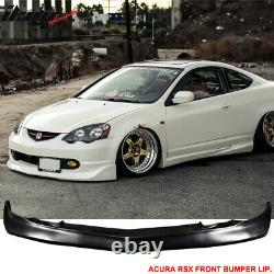 Fits 02-04 Acura RSX DC5 Coupe Mugen Style Front Bumper Lip Spoiler PU