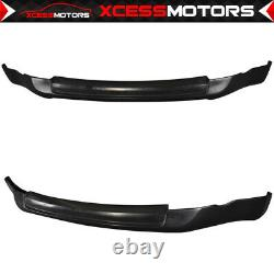 Fits 03-05 Nissan 350Z ING-S Style Front Bumper Lip Unpainted PU