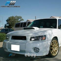 Fits 03-05 Subaru Forester SG5 DS Style Front Bumper Lip