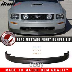 Fits 05-09 Ford Mustang V8 GT 4.6L Front Bumper Lip Chin Spoiler