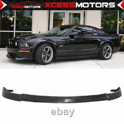 Fits 05 Ford Mustang V8 CV2 Type PU Front Bumper Lip