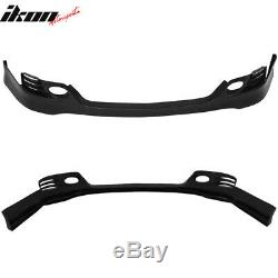 Fits 06-08 Acura TSX EURO-R Style Front Bumper Lip Spoiler Unpainted PU