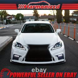 Fits 06-13 Lexus IS250 350 Esprit Style Front Bumper Cover Conversion With Grille