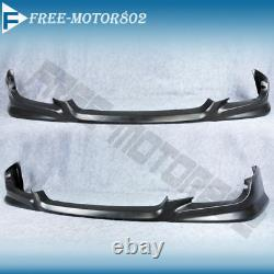 Fits 09-11 HONDA CIVIC COUPE PU FRONT BUMPER LIP SPOILER BODYKIT HFP STYLE