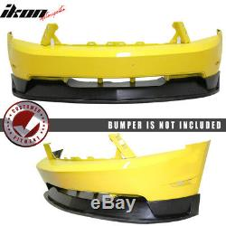 Fits 10-12 Ford Mustang GT ST Style Front Bumper Lip