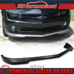 Fits 10-13 Chevy Camaro V6 PU Front Bumper Lip SS Style