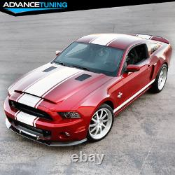 Fits 10-14 Mustang Shelby GT500 Factory Style Front Bumper Lip Chin Spoiler PP