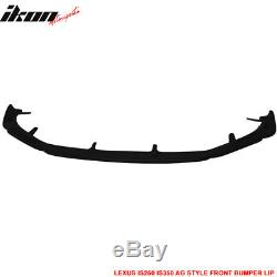 Fits 14-16 Lexus IS250 IS350 F Sport Only AG Style Front Bumper Lip PU