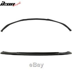 Fits 14-16 Toyota Corolla Type S GT Front Bumper Lip Chin Spoiler PU