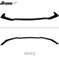 Fits 18-20 Ford Mustang GT Style Front Bumper Splitter Lip Black PP