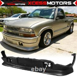Fits 98-04 Chevy S10 Pickup EXTREME Style PU Front Bumper Lip Spoiler