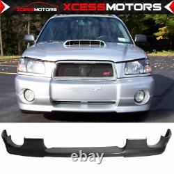 For 03-05 Subaru Forester Sg5 DS Style PU Front Bumper Lip Spoiler