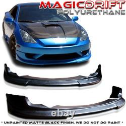 For 03-05 Toyota Celica JDM C1 C-One Style PU Front Bumper Body Lip Kit Urethane