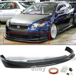 For 05-10 tC Urethane JDM Style PU Front Bumper Lip Spoiler Body Kit Add On