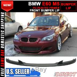 For 06-10 BMW E60 M5 Only H Style Front Bumper Lip Spoiler PU