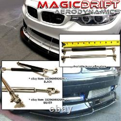 For 11 12 13 Lexus IS250 IS350 JDM Style Front Bumper Chin Spoiler Lip Urethane