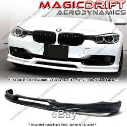 For 12-15 BMW F30 Base 3-Series 3D Style PU Front Bumper Lip Spoiler Body Kit