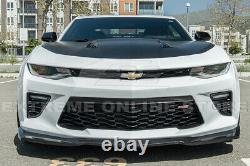 For 16-Up Camaro SS ZL1 Style ABS Plastic Front Bumper Lower Lip Splitter