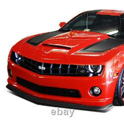 For 2010-2013 Chevy Camaro Zl1 Style Abs Front Bumper Lip Spoiler Wing Body Kit