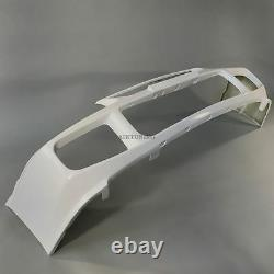 Front Bumper Spoiler Add On Valance Kit With Lip (Fits Mitsubishi Evolution 3)