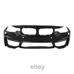 M3 Style Front Bumper Kit with Aero Lip For BMW F30 3-Series 12-18 With PDC Holes