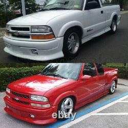 Made for 1998-2004 CHEVY S10 EXtreme Style USDM Front PU Bumper Chin Lip Spoiler