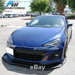 Universal 68x20 in RB Style Front Bumper Lip Underbody Spoiler PP