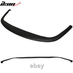 Universal Fit CS Style Front Bumper Lip Spoiler Add On PU